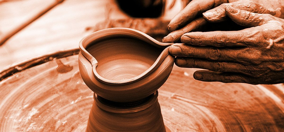 the discipline of the Father is like the Potter's hands
