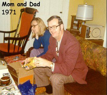 Terry's Mom and Dad in 1971